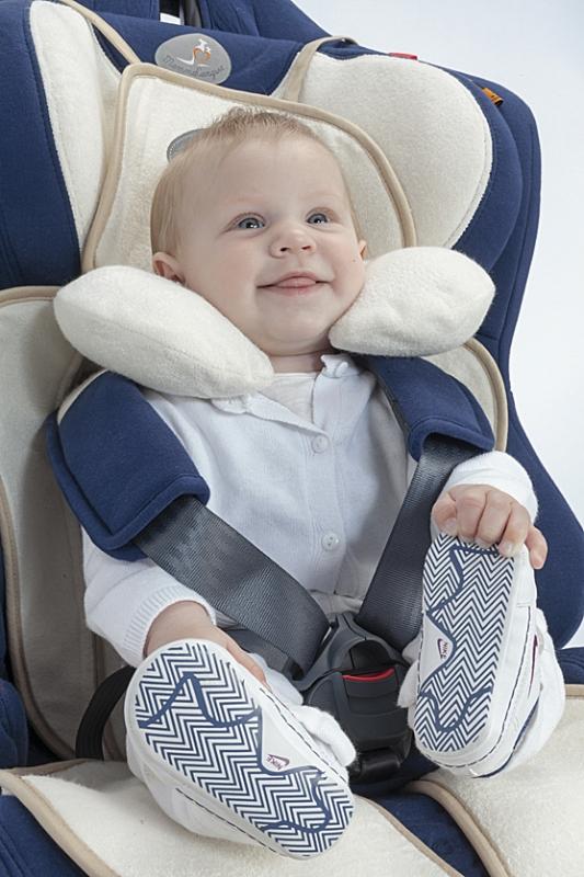Kindersitz Auflage