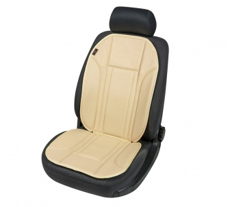 Car Seat Pad Ravenna beige made of artificial leather