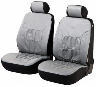 autositzbez ge nappa touch grau f r vordersitze aus. Black Bedroom Furniture Sets. Home Design Ideas