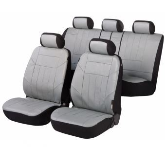 autositzbez ge soft nappa grau aus kunstleder. Black Bedroom Furniture Sets. Home Design Ideas