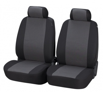 Car Seat Covers Pineto grey for 2 Front Seats