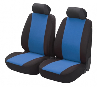 Car Seat Covers Flash blue for two front seats