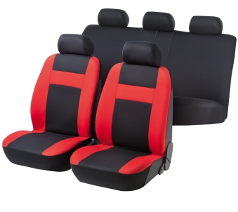 Car Seat Cover Cruise red black