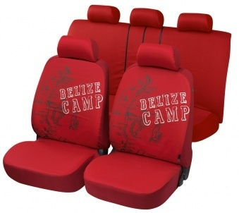 Cotton Car Seat Cover Belize Style