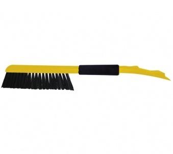 eiskratzer schneebesen schneekratzer auto schaber calgary mit besen gelb schwarz ebay. Black Bedroom Furniture Sets. Home Design Ideas