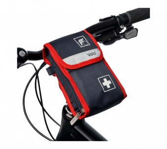 velo fahrradverbandstasche erste hilfe verbandtasche fahrrad verbandskasten ebay. Black Bedroom Furniture Sets. Home Design Ideas