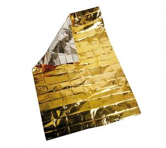 rettungsdecke rettungsdecken rettungsfolie gold silber. Black Bedroom Furniture Sets. Home Design Ideas