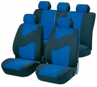 Car Seat Cover Avantgarde blue