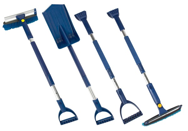 Winter Cleaning Set 5tlg. blau/schwarz