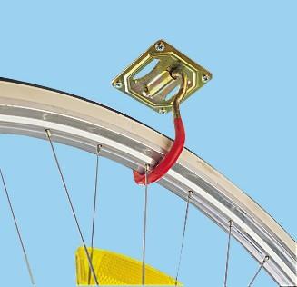 Decken- Wandhaken für Fahrräder