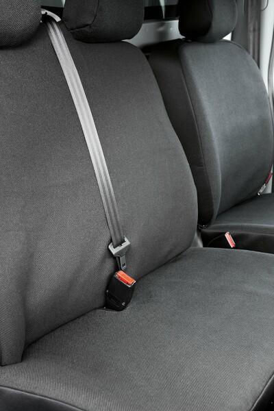 Sitzbezüge für Opel Vivaro Einzelsitz und Doppelbank vorne ab Baujahr 06/2001 - 07/2014
