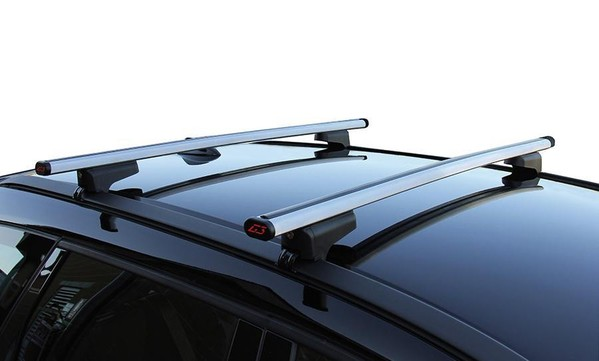 Roof Rack of aluminum 110 cm in silver