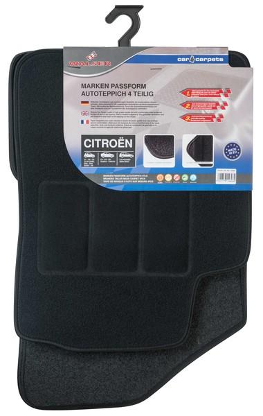 Automatten Fussmatten für Citroen 4-teilig