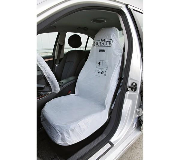 Schutzfolie für den Autositz 100 Stück