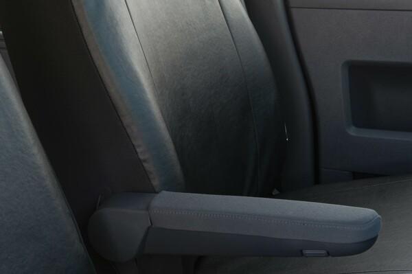 Sitzbezüge für VW T5 Einzelsitz vorne aus Kunstleder ab Baujahr 09/2009 - heute