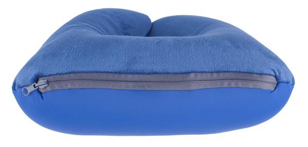 2in1 Nackenrolle für Erwachsene dunkelblau