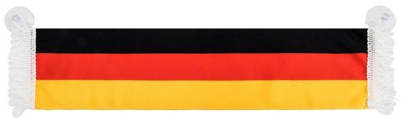Auto-Fanschal Deutschland mit Saugnäpfen 9 x 45 cm