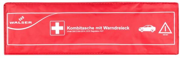 KFZ Verbandstasche Kombi 2 rot nach DIN 13164