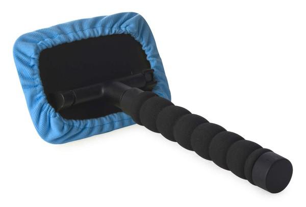 Scheibenreiniger teleskopierbar 26 - 42 cm blau