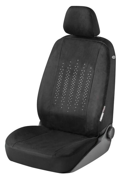 Autositzbezug Julia verziert mit Kristallen von Swarovski® für einen Vordersitz
