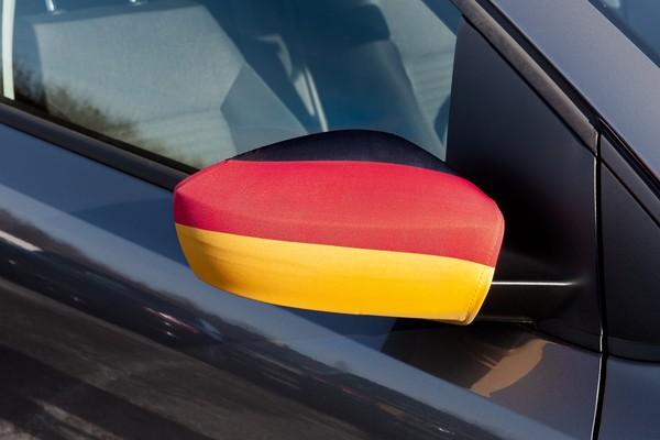 Seitenspiegelfahne Deutschland