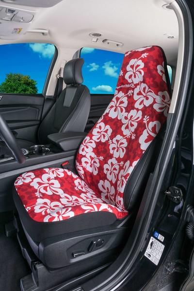 Hawaii Sitzbezug in Rot