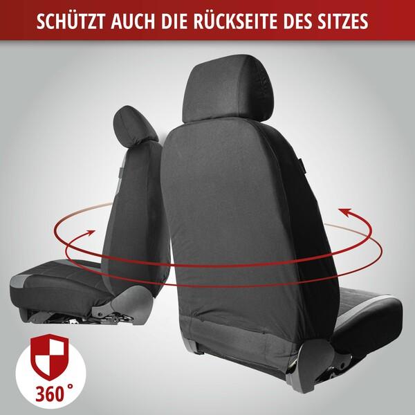 ZIPP IT Premium Inde Auto Sitzbezüge mit Reissverschluss System