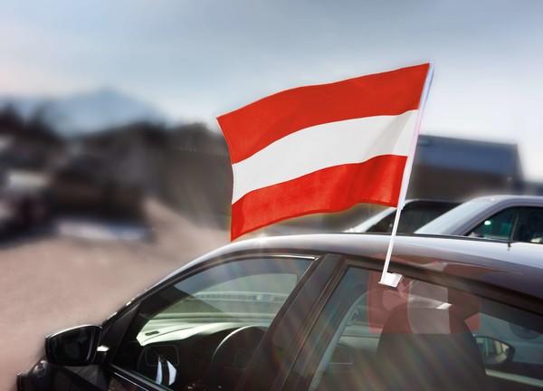 Fensterfahne Österreich