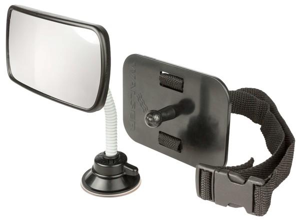 Baby Rückspiegel - Autospiegel fürs Auto schwarz