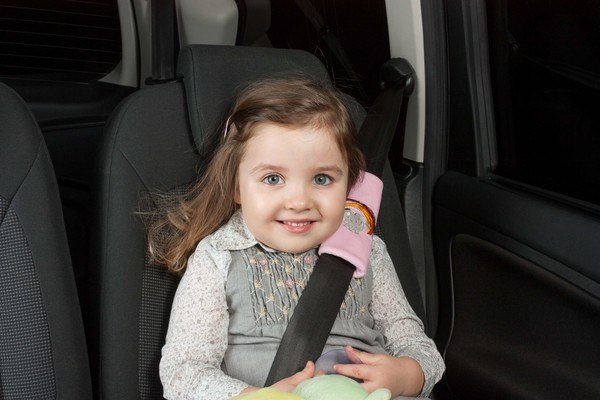 Cool Girl Mini-Gurtpolster Gurtschoner rosa ab 3-4 Jahre