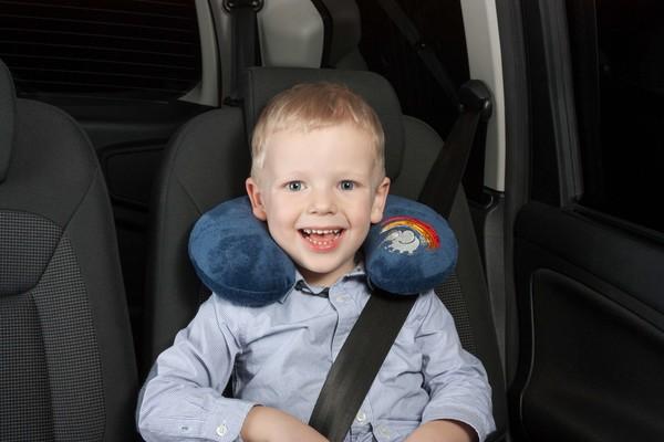 Cool Boy Mini-Nackenrolle Nackenhörnchen blau ab 3-4 Jahre