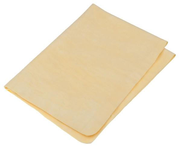 Chamois Tuch gelb, 66 x 43 cm