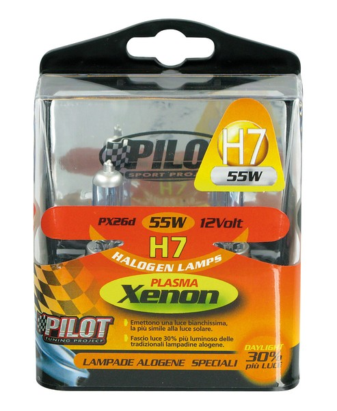Xenon-H7 Halogen Lampen 55W 12V