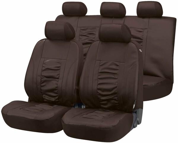 Autositzbezug Raphael braun aus Kunstleder