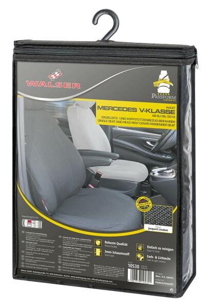 Stoff Sitzbezug für Mercedes-Benz V-Klasse 477 (Beifahrer) inkl. Armlehne innen Bj. ab 06/2014