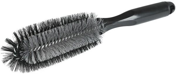 Felgenbürste grau schwarz