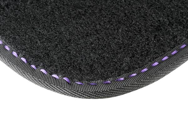 Autoteppich The Color schwarz / lila