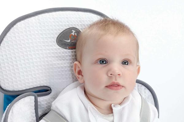 Kindersitzauflage Soffio weiss