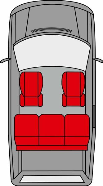 Kopfstützenbezug Modulo 2 Stück