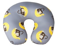 Monkeys Nackenrolle Nackenhörnchen in Grau ab 5 Jahre