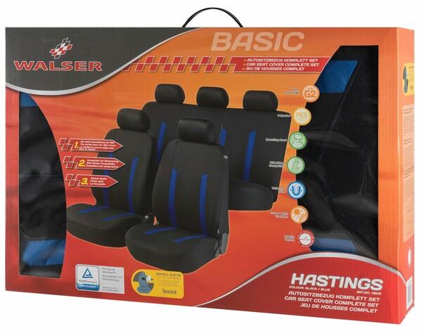Autositzbezug Hastings blau