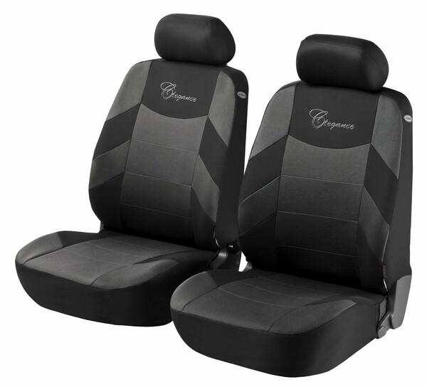 Autositzbezug Elegance grau für Vordersitze