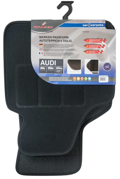 Automatten Fussmatten für Audi 4-teilig