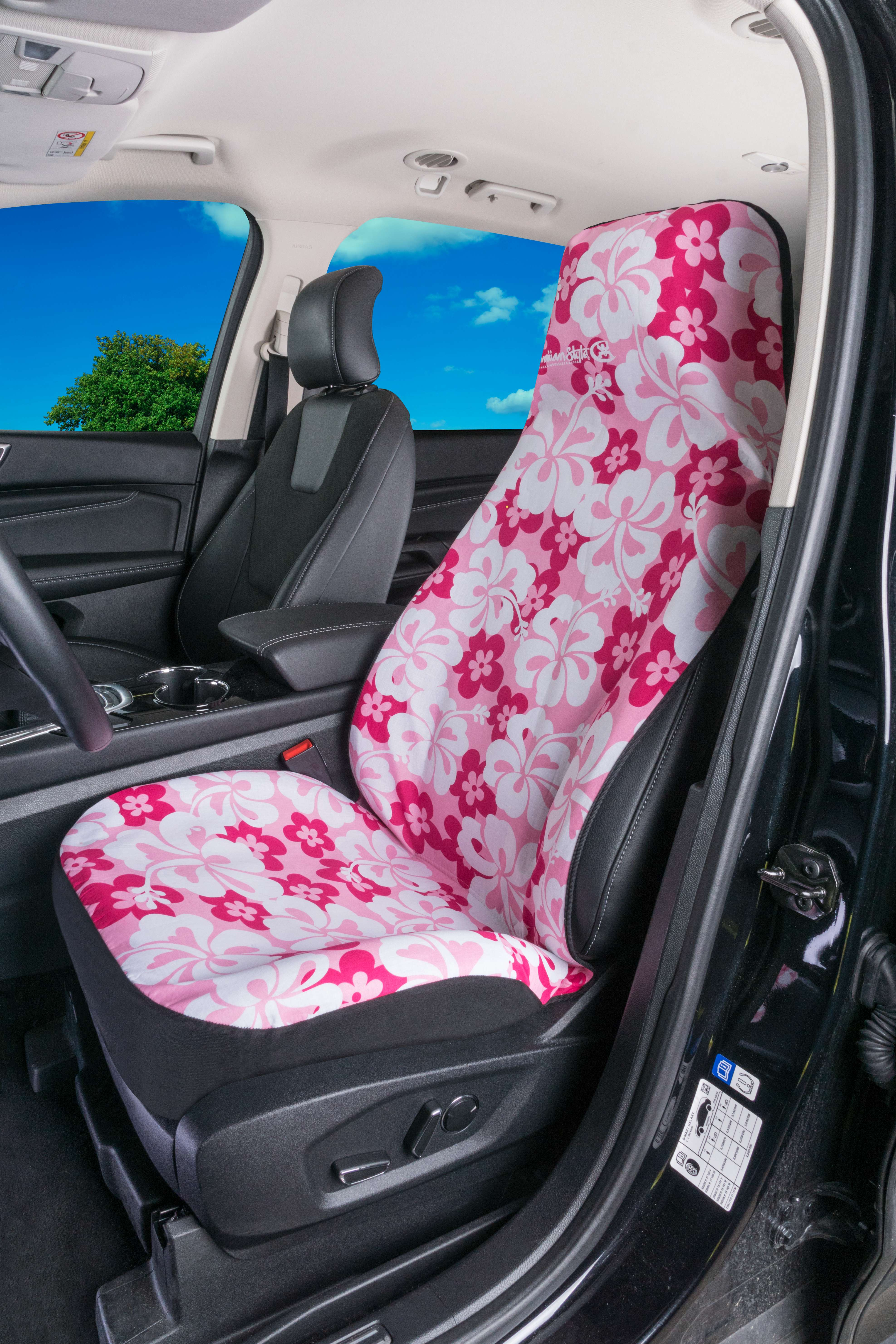 Hawaiian Car Seat Covers >> Car Seat Cover Hawaiian Pink