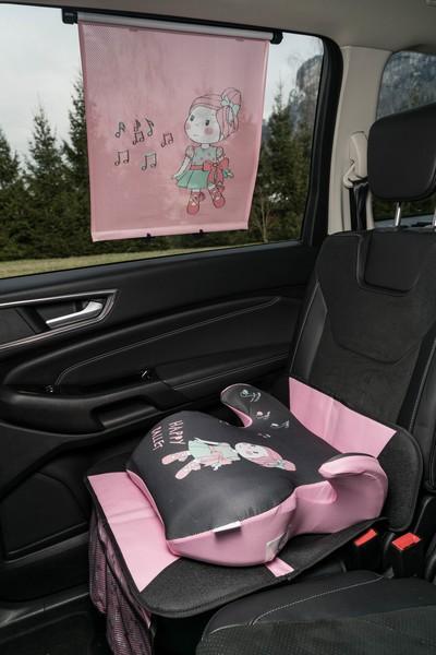 Kindersitzerhöhung Ballet Doll Motiv rosa