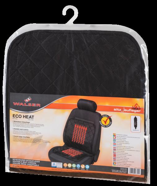 Sitzheizung Heizkissen Eco Heat schwarz