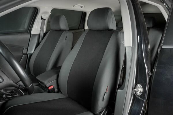 Autositzbezug Classic anthrazit schwarz