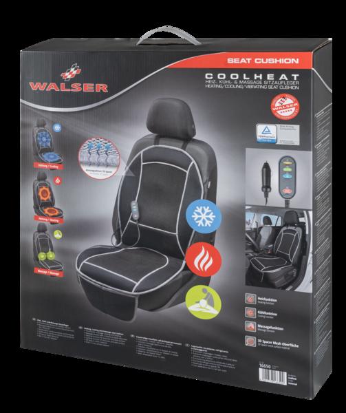 Sitzheizung Sitzauflage Cool Heat mit Massage schwarz