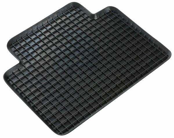 Gummimatte Randwaben 41x37 cm Hinten schwarz