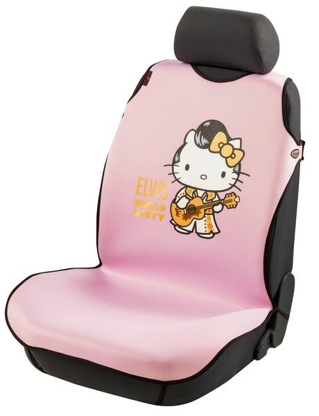 Auto Sitzbezug Universalgröße Hello Kitty Elvis Tuning Star rosa
